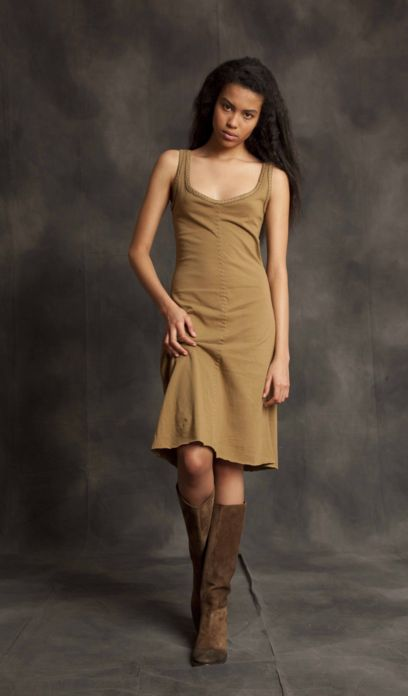 AC khaki dress